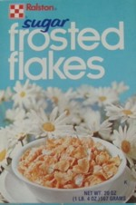 Sugar Frosted Flakes Box