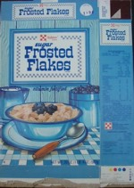 Ralston Sugar Frosted Flakes Box