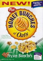 Pecan Honey Bunches Of Oats Box Front