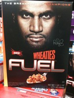 Albert Pujols Wheaties Fuel Box