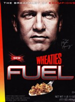 Peyton Manning Wheaties Fuel Box