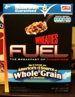 Wheaties Fuel Box - Late 2010