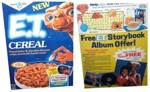 E.T. Cereal With Album Offer