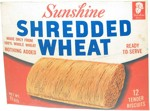 Sunshine Shredded Wheat Box