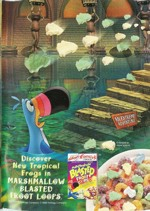 1999 Marshmallow Blasted Froot Loops Ad