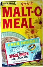 Malt-O-Meal With Spaceships