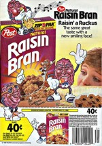Natural Raisin Bran Advertisment