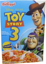 Toy Story 3 Cereal Box