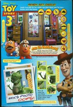 Toy Story 3 Cereal Box - Back