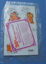 Garfield Stickers & Coupon