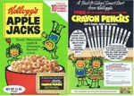 Apple Jacks Crayon Pencils Box