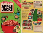 Apple Jacks Fun Stickers Box