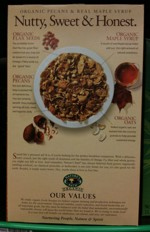 Flax Plus Maple Pecan Crunch Box - Back