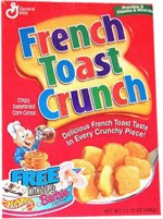 1997 French Toast Crunch Cereal Box