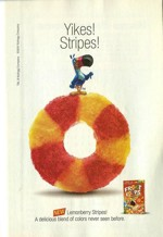 2001 Lemonberry Stripes Ad