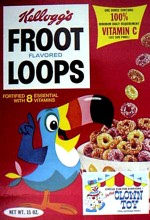 Froot Loops Box - Clown Toy