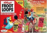 Froot Loops Safty Sticker