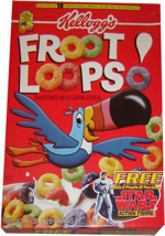 Froot Loops With Star Wars Toy