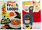 Early Froot Loops Cereal Box