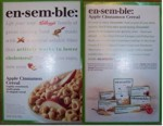 Ensemble Cereal Box