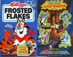 Frosted Flakes Ghost Monster Box
