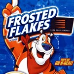 Frosted Flakes 2011 box