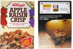 Apple Raisin Crisp Cereal Box