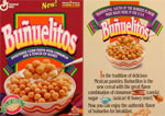 Bunuelitos Cereal Box
