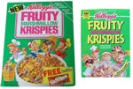 Two Boxes Of Fruity Marshmallow Krispies