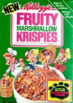 Fruity Marshmallow Krispies Stickers