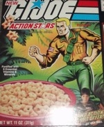 1985 G.I. Joe Action Stars Box