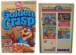1997 Golden Crsip Box - Front And Back