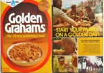 Golden Grahams Box - Front & Back
