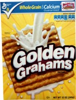 2010 Golden Grahams Cereal Box