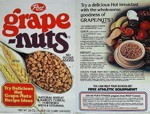 Grape-Nuts Recipe Ideas Box