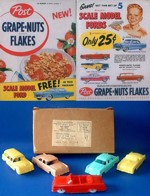 1955 Grape-Nuts Flakes Ford Premium