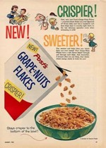 Crispier Sweeter Grape-Nuts Flakes