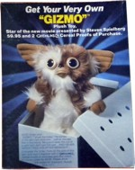 Gremlins Cereal Box - Back