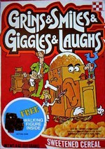Grins & Smiles & Giggles & Laughs Box - Walking Figure