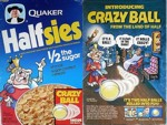 Halfsies Cereal Box - Crazy Ball