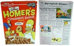 Front And Back Of Homer Cereal