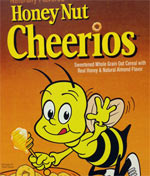 2015 Retro Throwback Honey Nut Cheerios Box
