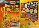 Honey Nut Cheerios 2000 Pennies Box