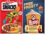 Honey Smacks - Free Frosty