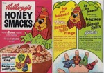 Honey Smacks Canadian Fleegle Box