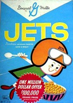 Classic Jets Cereal Box