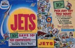 Jets Toy Certificate Box