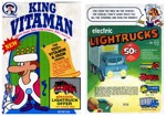 Early 70s King Vitaman Box