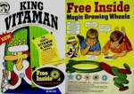 King Vitaman Magic Drawing Wheels