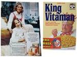 King Vitaman 1974 Box And Ad